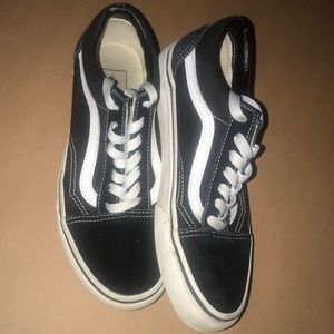 old skool vans size 6.5
